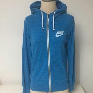 Women's Nike Vintage Gym Full-Zip Hoodie, M EUC